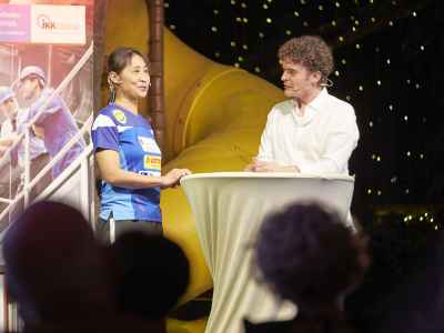 Europameisterin Tischtennis Qianhong Gotsch